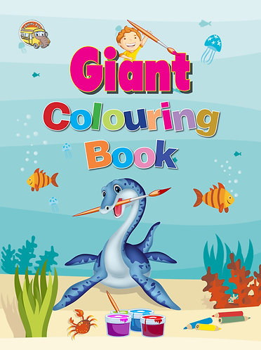 Gaint Colouring Book