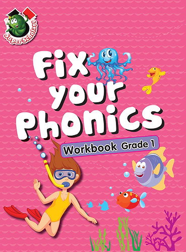 Fix Your Phonics Workbook Grade -1
