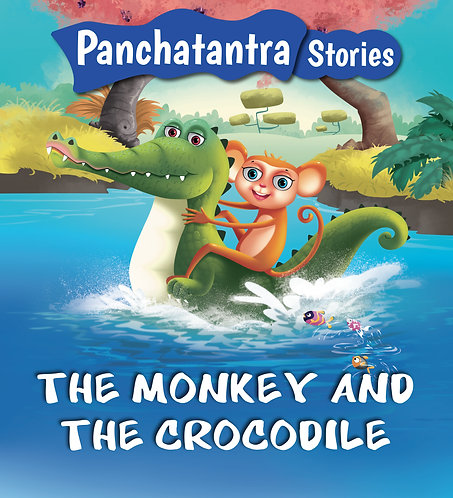 The Monkey and The Crocodile : Panchatantra Stories
