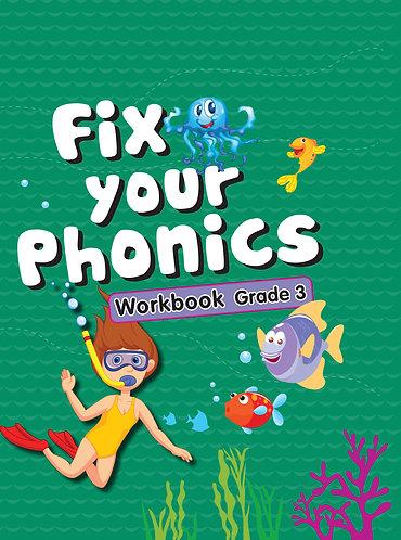 Fix Your Phonics Workbook Grade -3