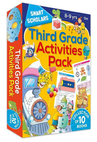 Third Grade Activities Pack ( Collection of 10 books) (Smart Scholars)