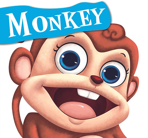 Monkey : Cutout Board Book