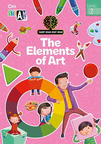 Smart Brain Right Brain: Science Level 2 The Elements of Art