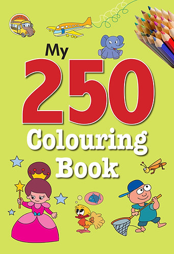 My 250 colouring Book -2