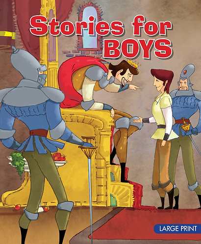 Stories For Boys : Large Print