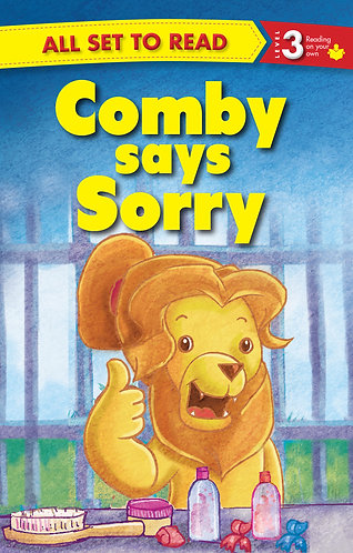 Comby Says Sorry : All Set To Read