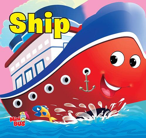 Ship : Cutout Board Book