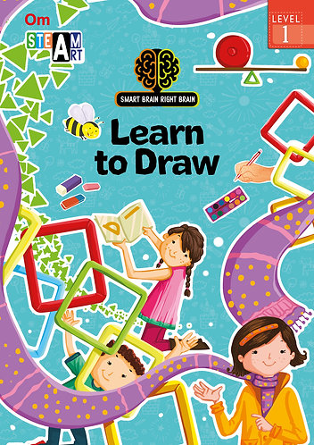 Smart Brain Right Brain: Science Level 1 Learn to Draw