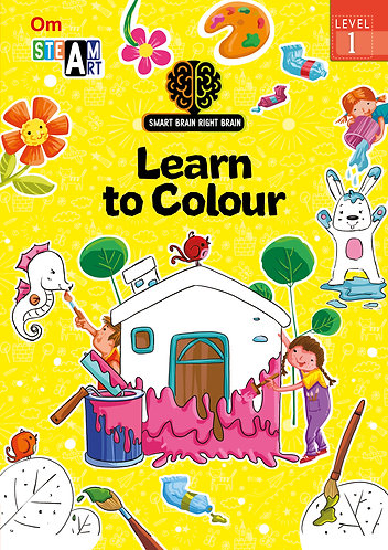 Smart Brain Right Brain: Science Level 1 Learn to Colour