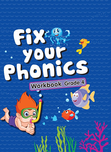 Fix Your Phonics Workbook Grade -4