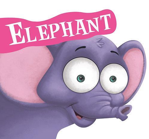 Elephant : Cutout Board Book