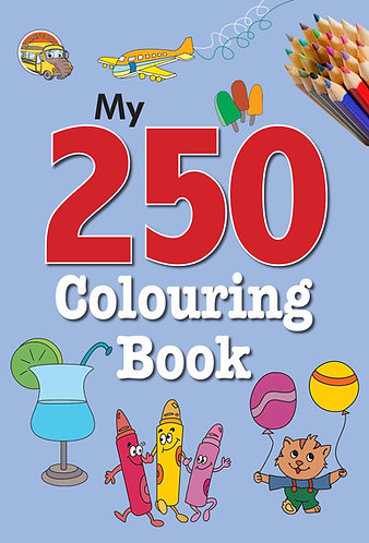 My 250 colouring Book -4