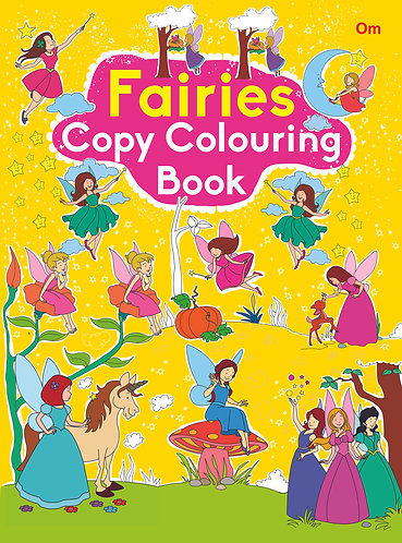 COPY COLOURING BOOK FAIRIES