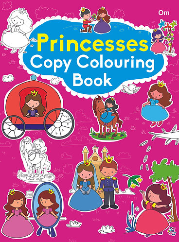 COPY COLOURING BOOK PRINCESS