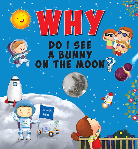 Why Do I See A Bunny On The Moon