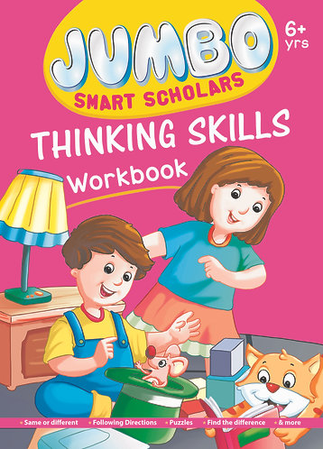 Jumbo Smart Scholars Thinking Skills Workbook