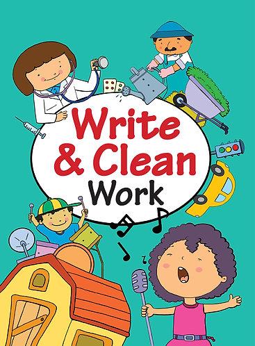 WRITE & CLEAN : WORK