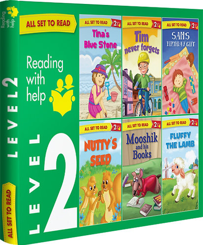 All Set TO Read Readers Level- 2 Box