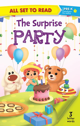All Set to Read Level Pre-K : The Surprise Party