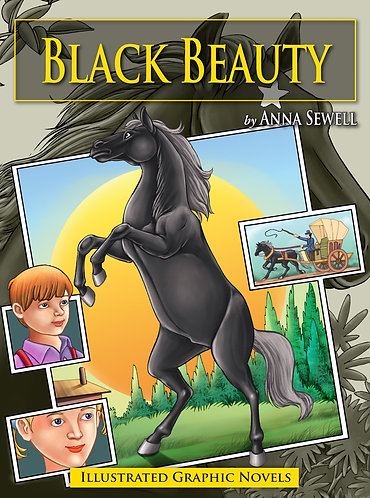 Black Beauty: Illustrated Graphic Novels