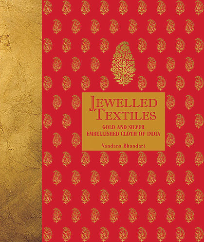 Jewelled Textile - Gold And Silver Embellished Cloth Of India