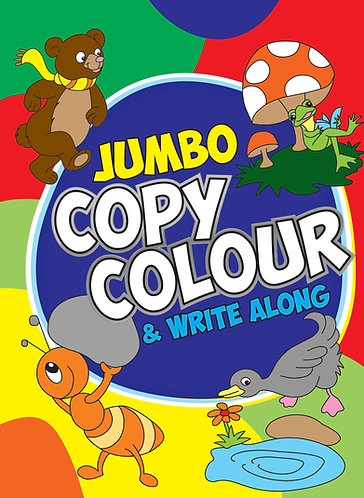 JUMBO Copy Colour and Write Along (Binder)