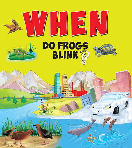 When Do Frogs Blink