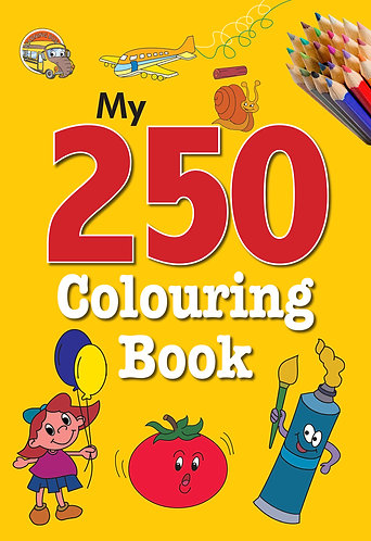 My 250 colouring Book -3