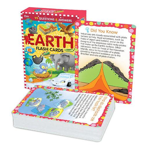 Flash Cards: 99 Questions and Answers Earth Flash Cards