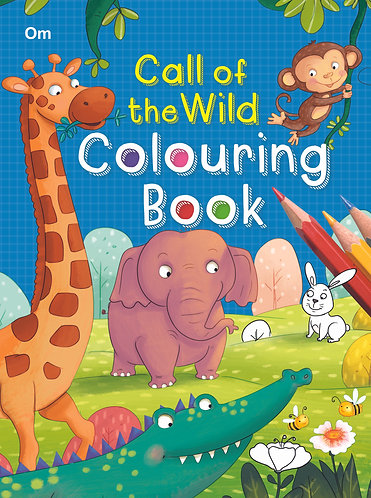 Call of the Wild Colouring Book