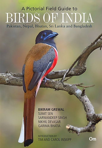 Birds of India: Pakistan, Nepal, Bhutan, Sri Lanka and Bangladesh