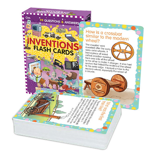 Flash Cards: 99 Questions and Answers Inventions Flash Cards