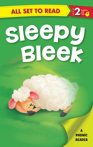 Sleepy Bleek : Phonic Reader