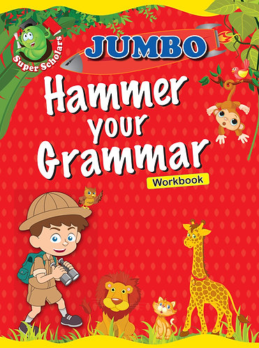 JUMBO Hammer Your Grammer Workbook (Binder)