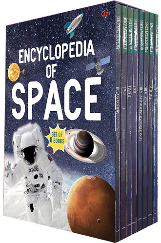 Encyclopedia Of Space (Set of 8 books) (Encyclopedias)