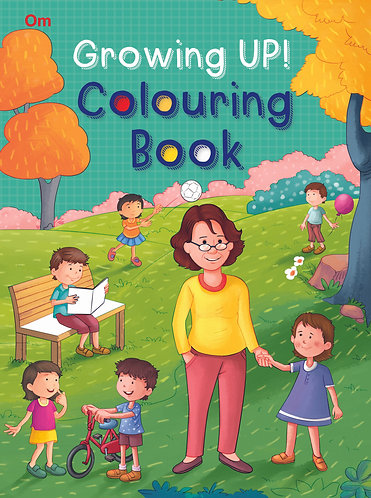 Growing Up! Colouring Book