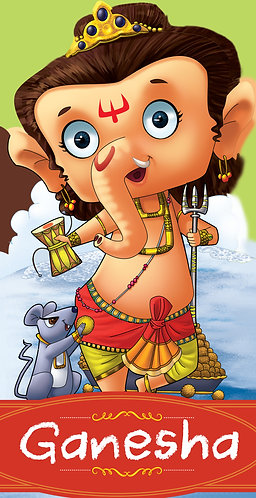 Ganesha : Cut-out Story Bookss