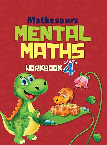 Mathesaurs Mental Math Workbook Grade -4