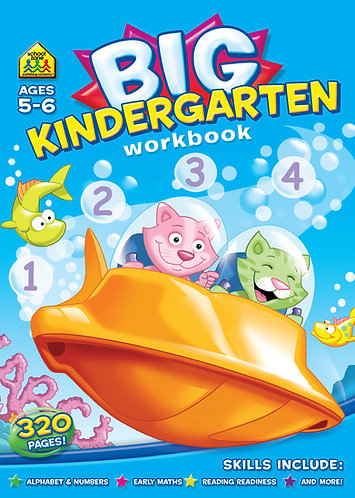 Big Kindergarden Workbook(Ages 5-6)