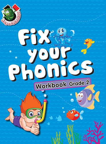 Fix Your Phonics Workbook Grade -2