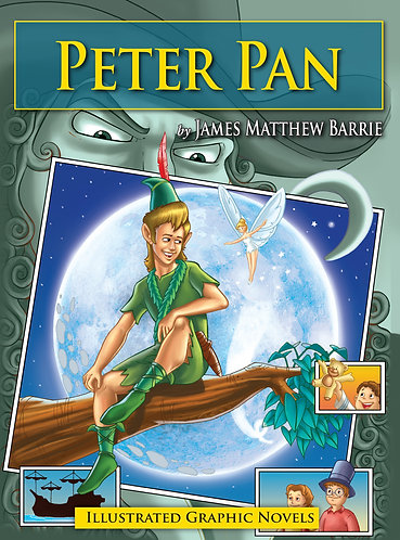 Peter Pan: Illustrated Graphic Novels