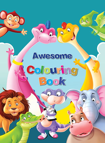 Awesome coloouring book 1