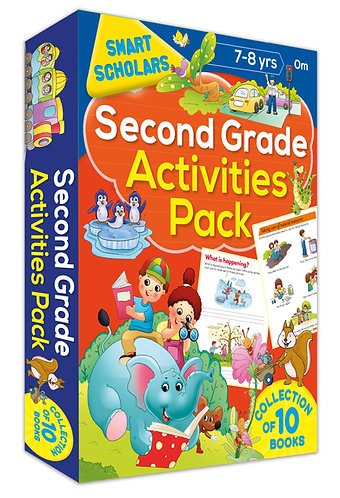 Second Grade Activities Pack ( Collection of 10 books) (Smart Scholars)
