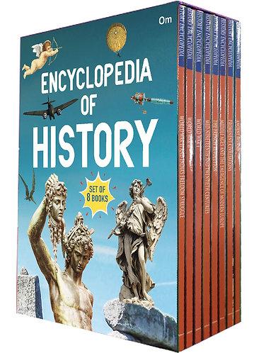 Encyclopedia Of History (Set of 8 books) (Encyclopedias)