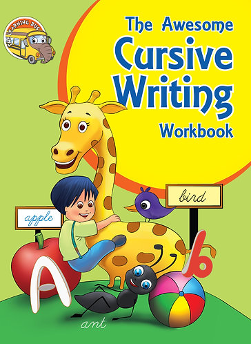 THE AWESOME Cursive Writing Workbook (Binder)