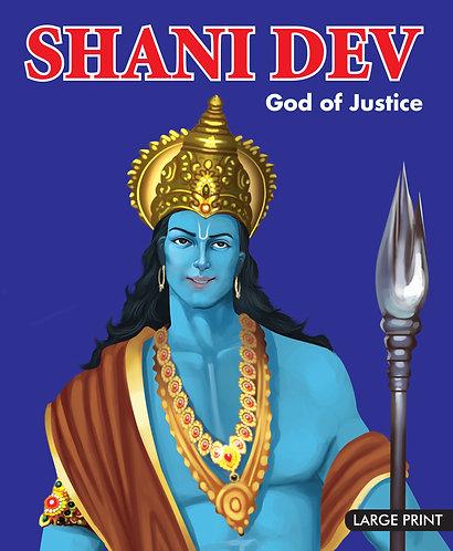 Shani Dev God of Justice : Large Print