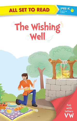 All set to Read fun with latter VW The Wishing Well