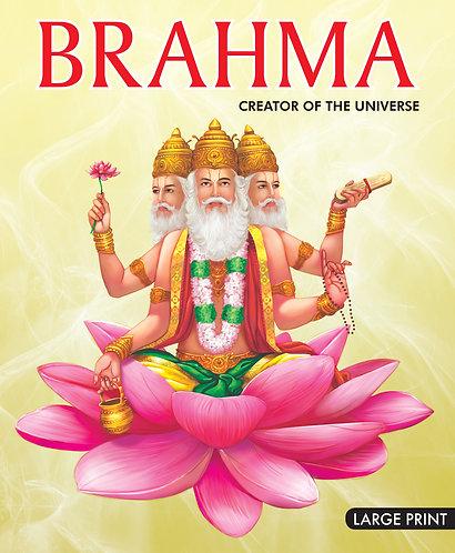 Brahma Creator of The Universe : Large Print