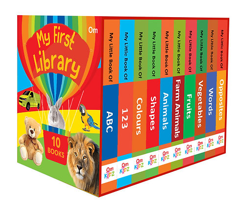 My First Library : Set of 10 Board Books (Box Set)