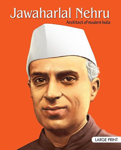 Jawaharlal Nehru : Large Print